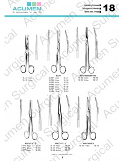 Mayo Operating Scissors