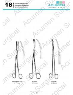 Thorax and Vascular Scissors