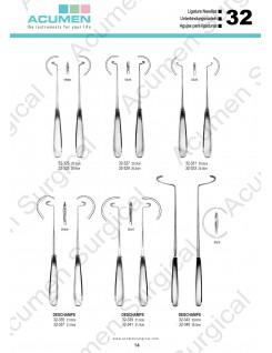 Ligature Needles