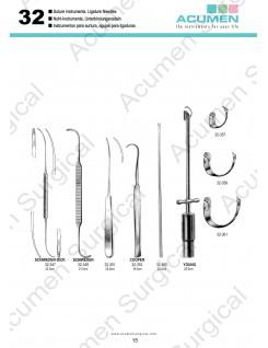 Suture Instruments, Ligature Needles