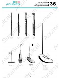 Nail driver and Reamers
