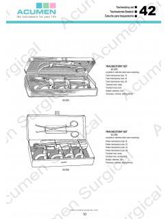 Tracheotomy Set