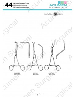 Atrauma Hemostatic Forceps