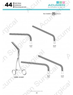 Aortic Clamps