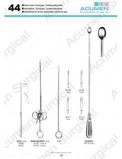 Nerve Hooks, Tourniquets, Tunneling Instruments