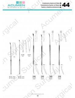 Endarterectomy Spatula and Dilators