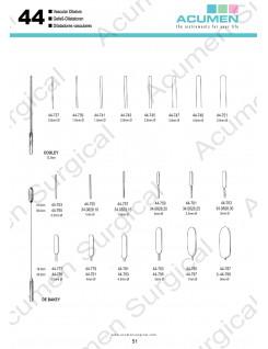 Vascular Dilators