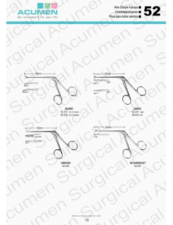 Wire Closure Forceps