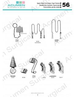 Napkin Holders, Oral Wedges, Finger Protectors