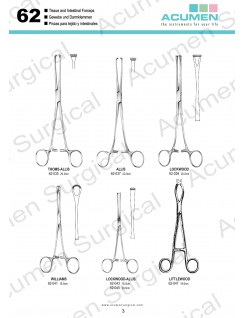 Tissue and Intestinal Forceps