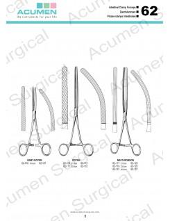 Intestinal Clamp Forceps