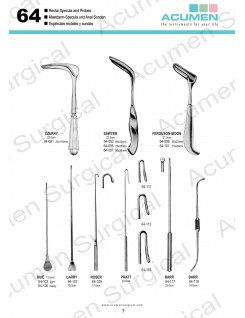 Rectal Specula and Probes