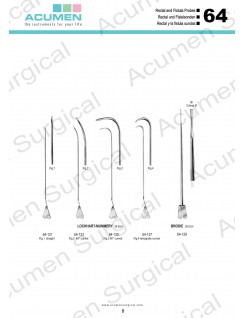 Rectal and Fistula Probes