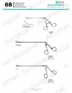 Foreign Body Forceps