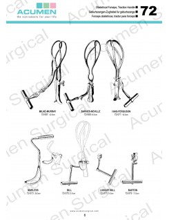 Obstetrical Forceps, Traction Handle