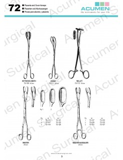 Placenta and Ovum Forceps