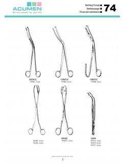 Sterlizing Forceps