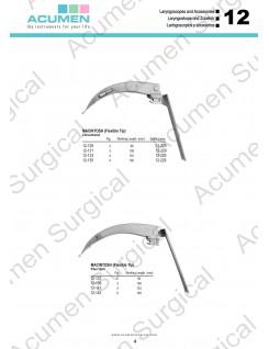Macintosh Flexible Tip Blades