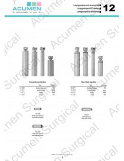 Laryngoscope Handles and Bulbs